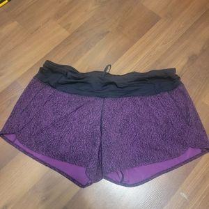 Lululemon Speed up shorts size 12